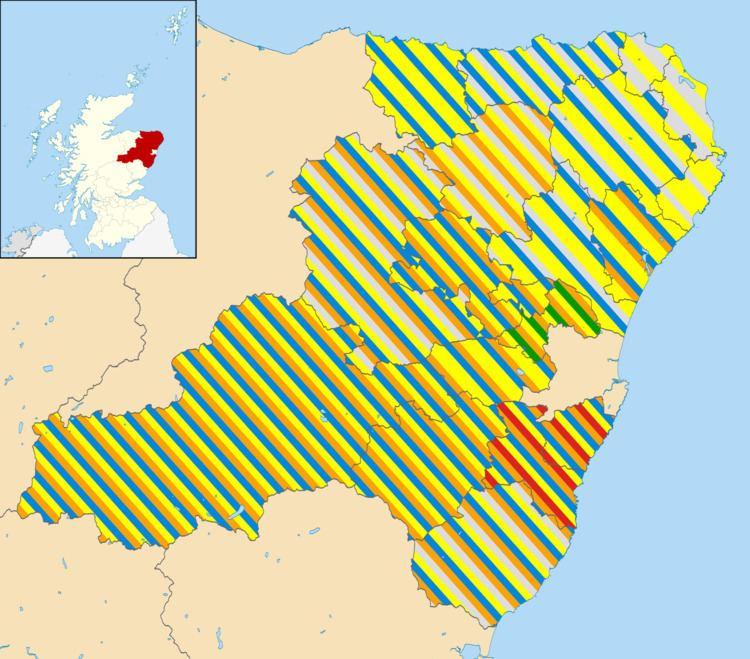 Aberdeenshire Council election, 2012