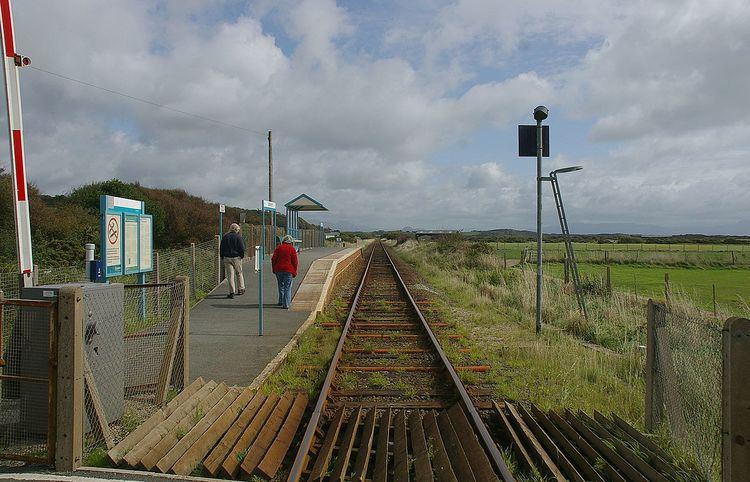 Abererch railway station