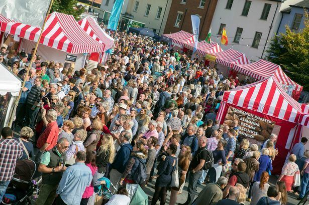 Abergavenny Food Festival Abergavenny Food Festival News pictures information and noms from
