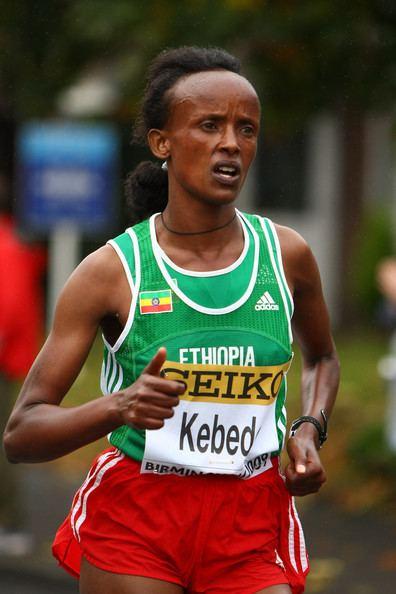 Aberu Kebede Aberu Kebede Photos IAAF World 12 Marathon Zimbio