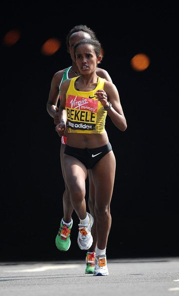 Aberu Kebede Aberu Kebede Pictures Virgin London Marathon 2011 Zimbio