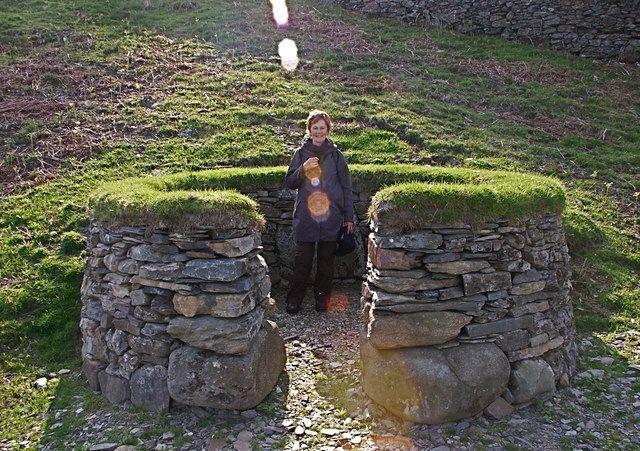 Aberuchill Castle FileStone shooting butt Aberuchill Castle estate Perthshire