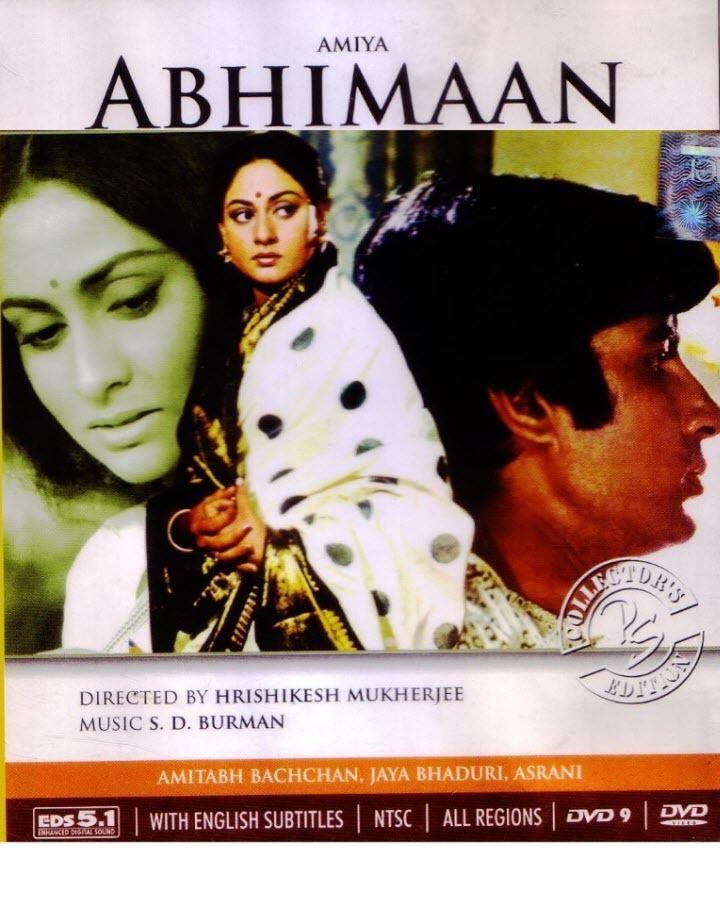 Abhimaan (1973 film) Abhimaan 1973 DVDRip x264 AC3 Eng Sub For Amitabh Bachchan