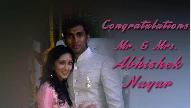 Abhishek Nayar (Cricketer) family