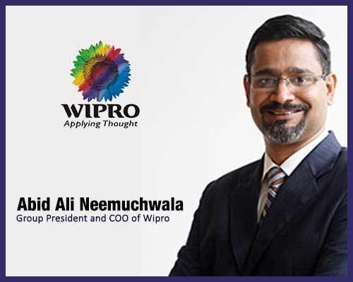 Abidali Neemuchwala Abid Ali Neemuchwala as CEO of Wipro HYDERABAD SPOTLIGHT