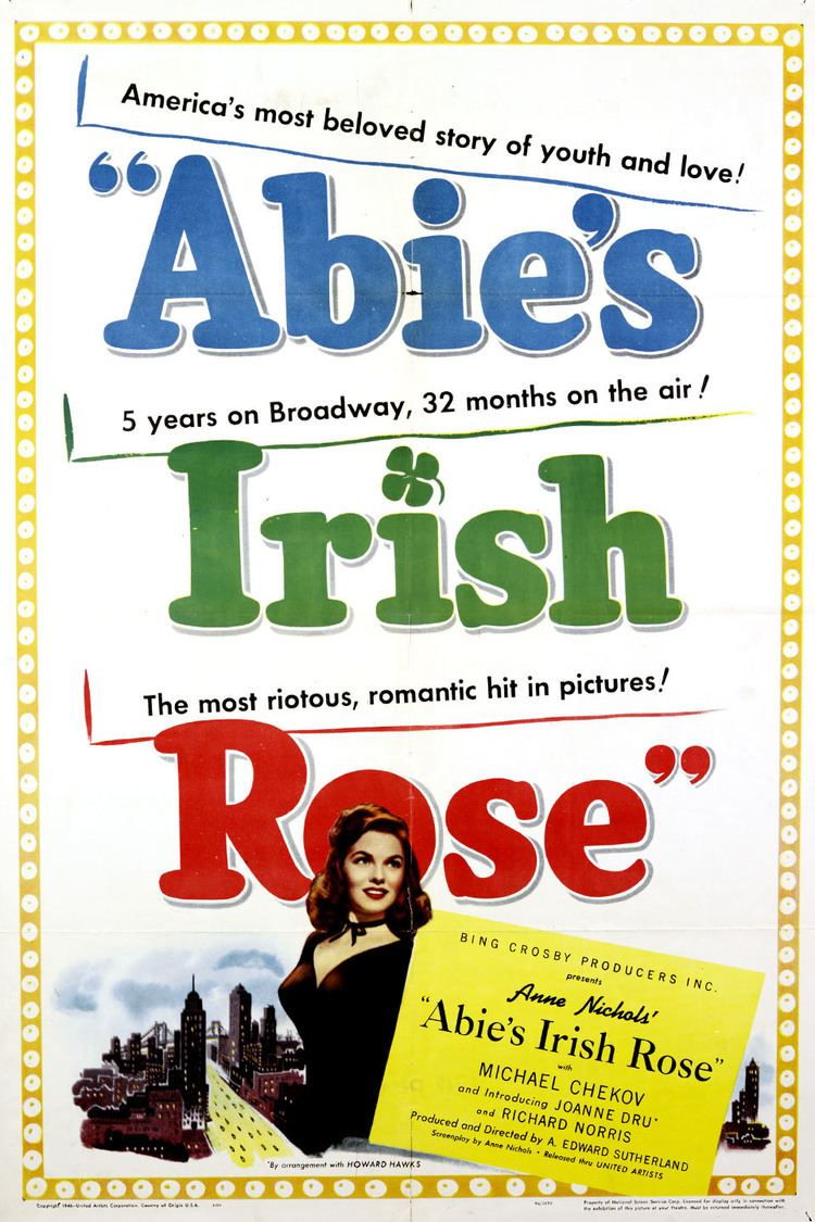 Abie's Irish Rose (1946 film) wwwgstaticcomtvthumbmovieposters117804p1178
