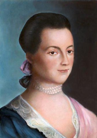 Abigail Adams Abigail Adams Biography National First Ladies39 Library