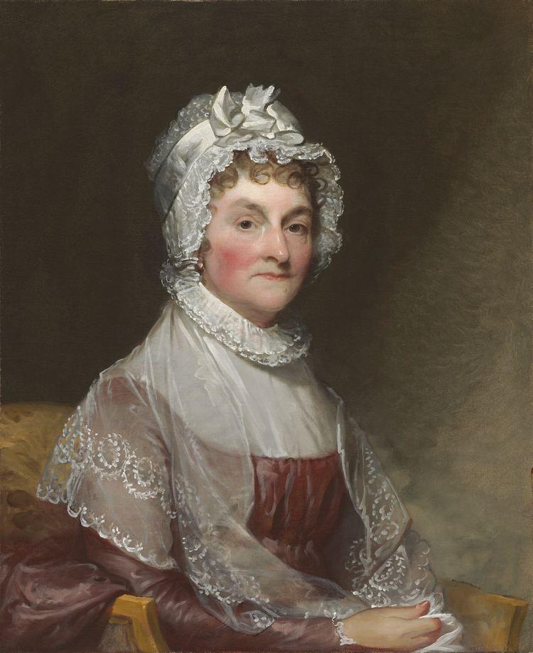 Abigail Adams FileAbigail Adams by Gilbert Stuartjpg Wikimedia Commons