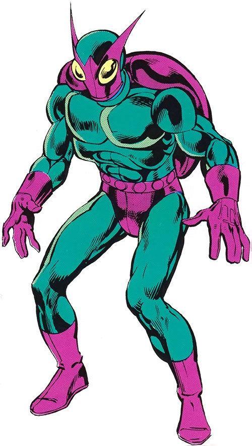 Abner Jenkins Beetle Marvel Comics Abner Jenkins Character Profile