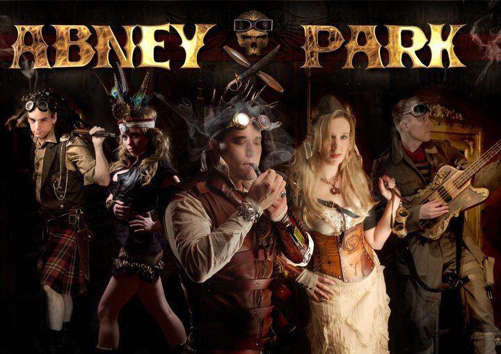 Abney Park (band) Abney Park thecaptainshammer