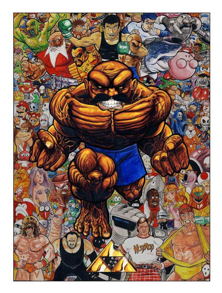 Abobo's Big Adventure Secret Abobo Poster