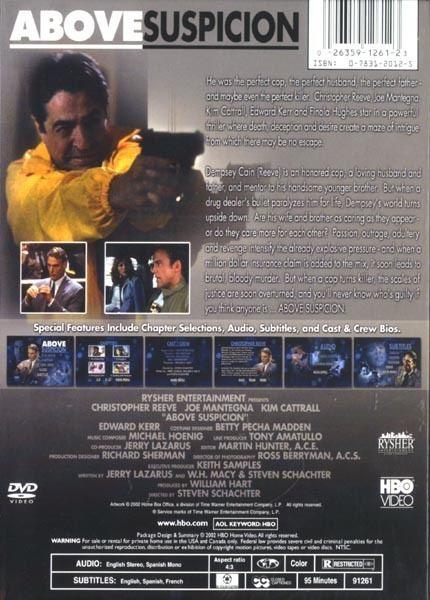Above Suspicion (1995 film) Edward Kerr Photo Gallery Above Suspicion