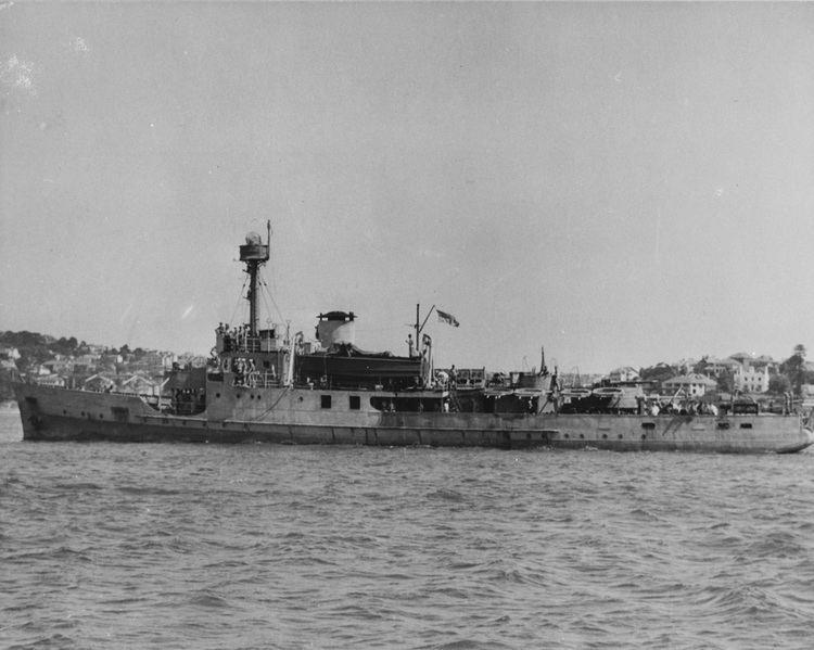 Abraham Crijnssen HMAS Abraham Crijnssen Royal Australian Navy