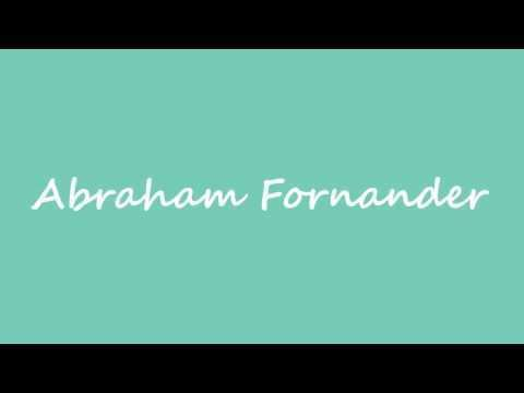Abraham Fornander WN abraham fornander