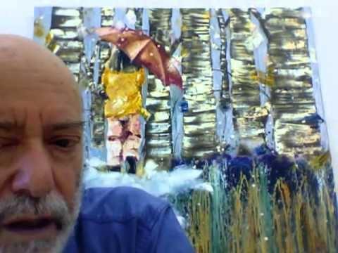 Abraham Lubelski Abraham Lubelski NY Arts Magazine with Connie Bonlokke YouTube