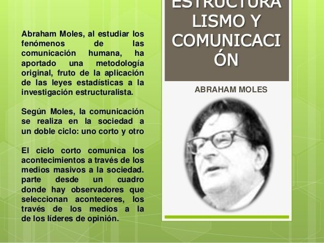 Abraham Moles exponentesyteoriaseuropeasdelacomunicacion6638jpgcb1414356772