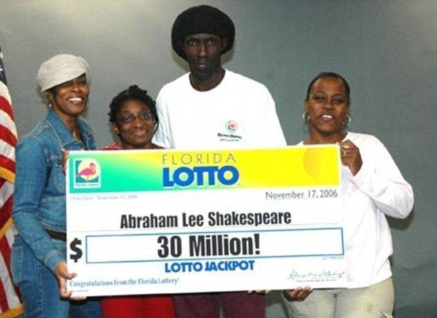 Abraham Shakespeare Dorice 39Dee Dee39 Moore killer of lottery winner Abraham