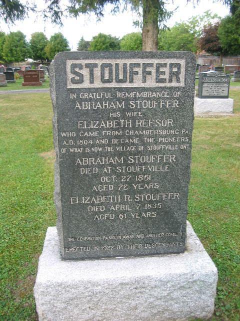 Abraham Stouffer Abraham Stouffer Sr 1780 1851 Find A Grave Memorial