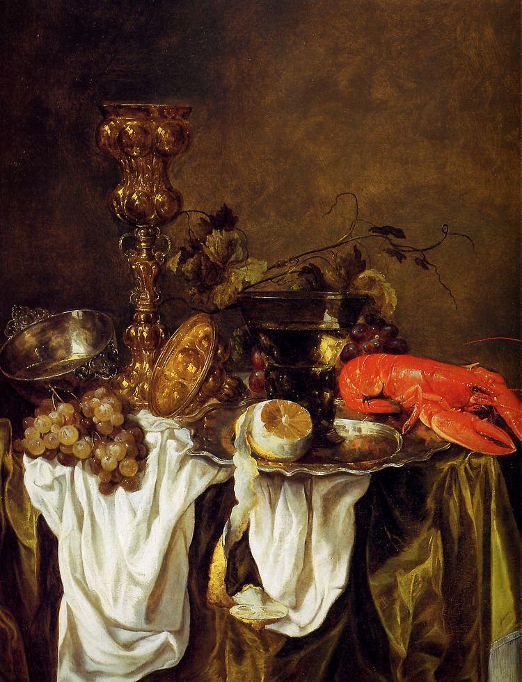 Abraham van Beijeren Beijeren van Abraham Still life with lobster Sun Abraham