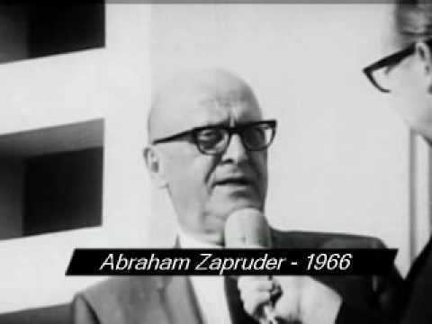 Abraham Zapruder Abraham Zapruder interview 1966 YouTube