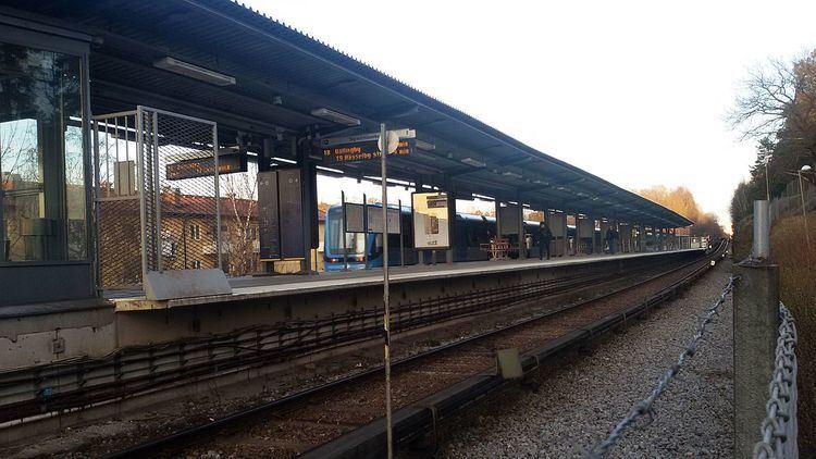 Abrahamsberg metro station