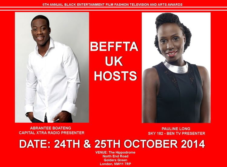 Abrantee Boateng MEDIA PERSONALITIES ABRANTEE BOATENG AND PAULINE LONG TO HOST THE