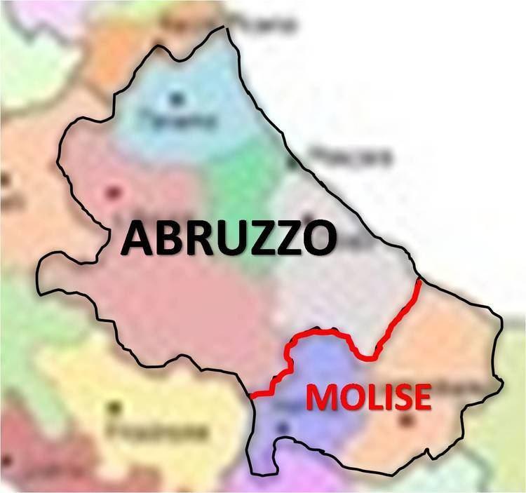 Abruzzi e Molise LE PICCOLE REGIONI Il caso MOLISE fino al 1963 regione ABRUZZO e