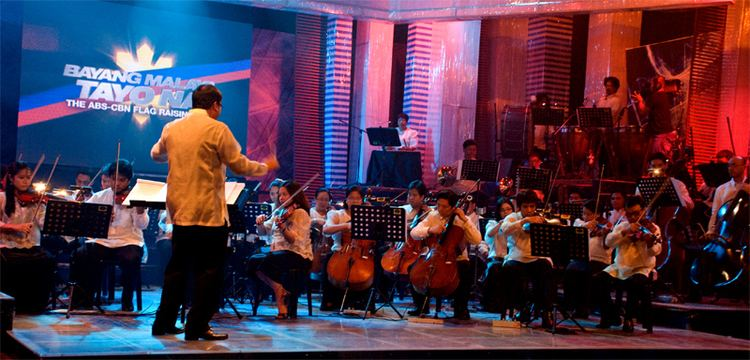 ABS-CBN Philharmonic Orchestra Master Ryan Cayabyab lauds the ABSCBN Philharmonic Orchestra
