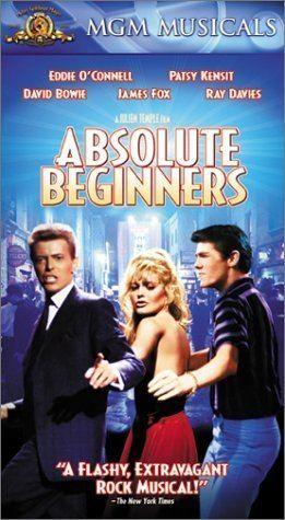 Absolute Beginners (film) Amazoncom Absolute Beginners VHS Patsy Kensit Eddie OConnell