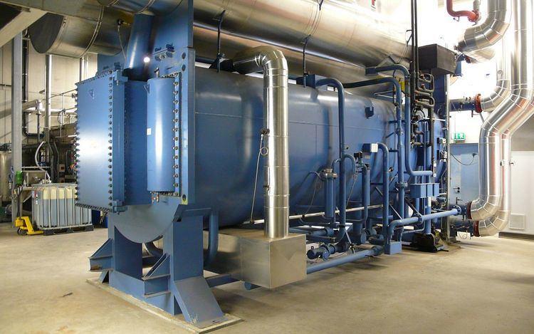 Absorption heat pump