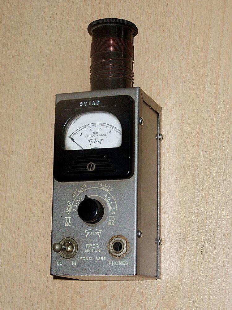 Absorption wavemeter