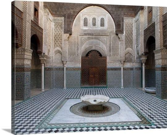 Abu al-Hasan Ali ibn Othman AlAttarine Madrasa built by Abu alHasan Ali ibn Othman Fes
