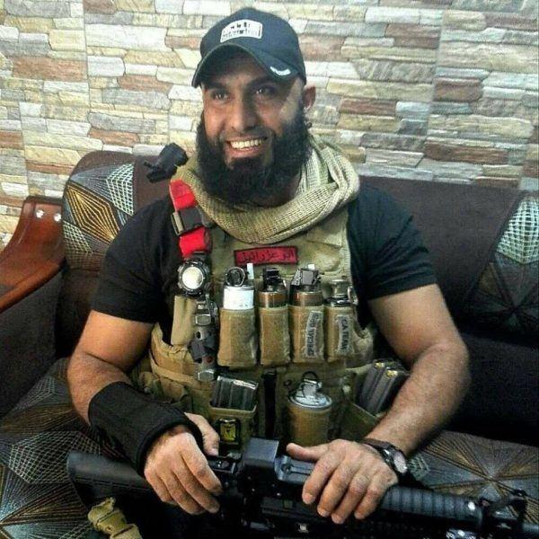 Abu Azrael 20 Minuten Irakischer Rambo ist der grsste Albtraum des