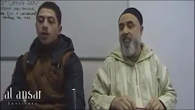 Abu Basir al-Tartusi Abu Basir alTartusi preaching in England and fighting in Syria MRCTV