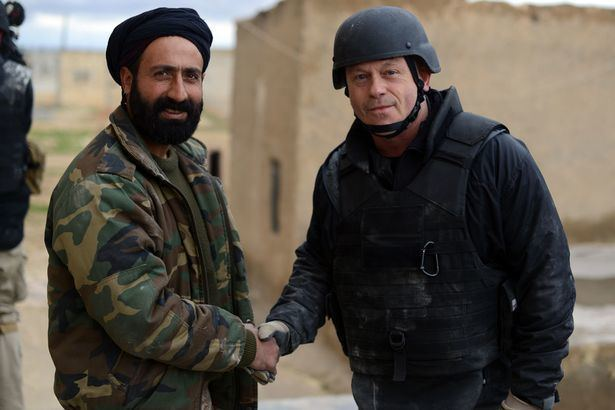 Abu Layla The terrifying moment Ross Kemp was almost killed by ISIS snipers