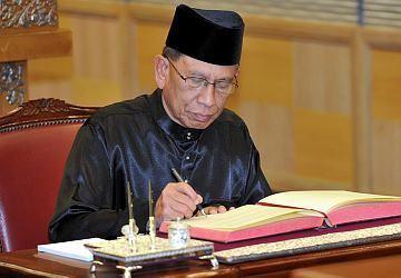 Abu Zahar Ujang Corcas chairman receives speaker of Malaysian Senate