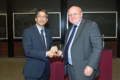 Abul Hussam Dr Abul Hussam Receives Anniversary Medallion
