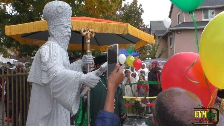 Abune Zena Markos Abune Zena Markos Memorial Statue Seattle Washington YouTube