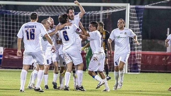 A.C. Libertas AC Libertas celebrate UEFA Europa League nav UEFAcom