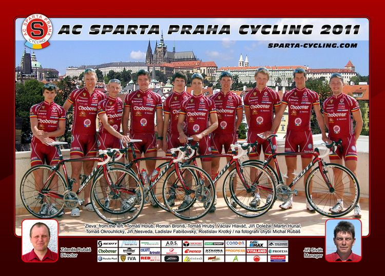 AC Sparta Praha (cycling team) AC SPARTA PRAHA Team card 2011 AC Sparta Praha Cycling