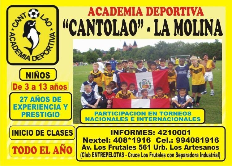 Academia Deportiva Cantolao cantolaolamolina CANTOLAO LA MOLINA