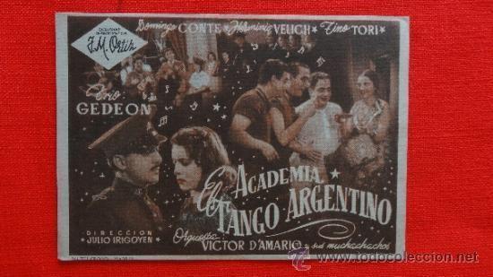 Academia El Tango Argentino academia el tango argentino impecable sencillo Comprar Musicales