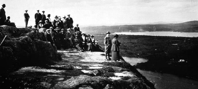 Acadia National Park in the past, History of Acadia National Park