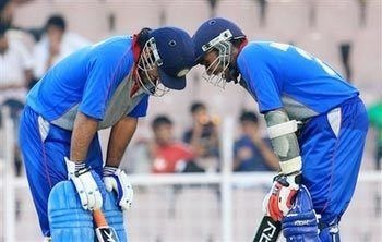ACC Asia XI cricket team In Pics Dhoni ton sets up Asia XI series sweep