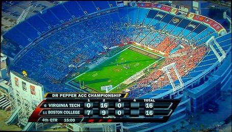 ACC Championship Game ACC Championship Game Sold Out CFB