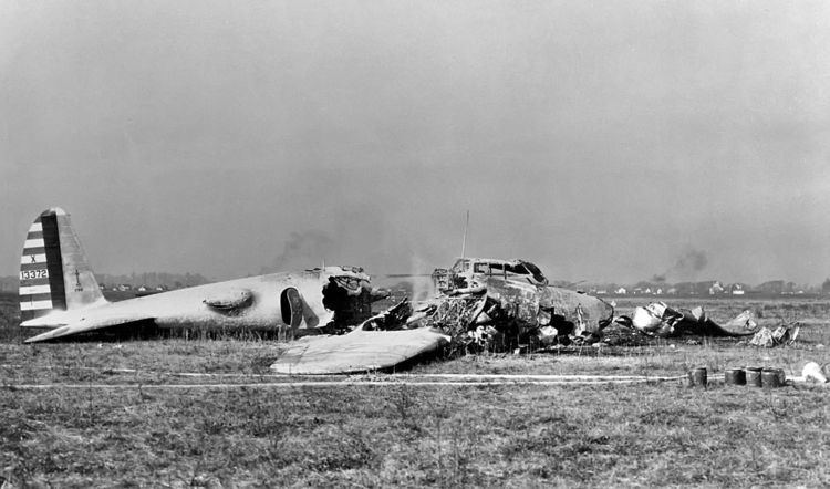 Accidents and incidents involving the Boeing B-17 Flying Fortress