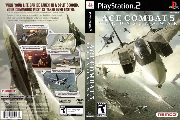 Ace Combat 5: The Unsung War wwwtheisozonecomimagescoverps299jpg
