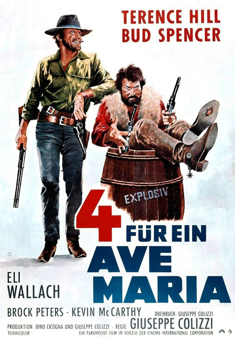 Ace High (1968 film) Ace HighI quattro dellave Maria1968 Not The Baseball Pitcher