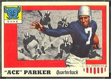 Ace Parker Ace Parker Nearmint39s Vintage Football Card Blog