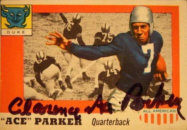 Ace Parker PSA AutographFacts Clarence quotAcequot Parker